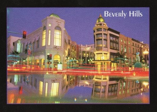 BEVERLY HILLS CALIFORNIA POSTCARD 035 from Hibiscus Express