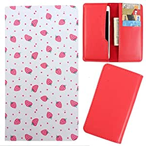 DooDa - For Karbonn S1 Plus Titanium PU Leather Designer Fashionable Fancy Case Cover Pouch With Card & Cash Slots & Smooth Inner Velvet