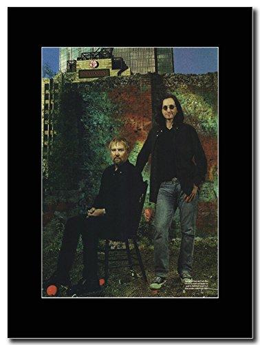 Rush-Due di tre Magazine Promo su un nero Mount