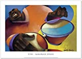 SMART ART - 'Tito ' by Maurice Evans - Fine Art Print 36x26 inches