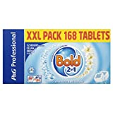 Bold 2in1 Crystal Rain & White Lily 84 Washes 1 x 168 Tablets 5.544kg