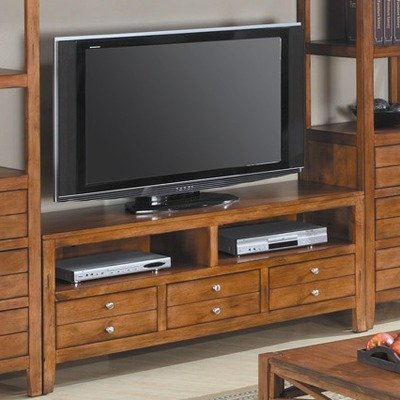 Cheap Chatsworth 60″ TV Stand in Distressed Pecan (47501V)
