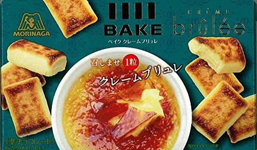 森永製菓  ベイククレームブリュレ  10粒×10箱