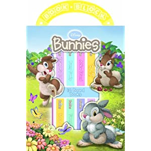 Disney Bunnies 12-Book Library [Bargain Price] [Hardcover]