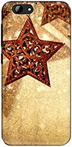The Racoon Grip star hangings hard plastic printed back case/cover for Htc One A9S