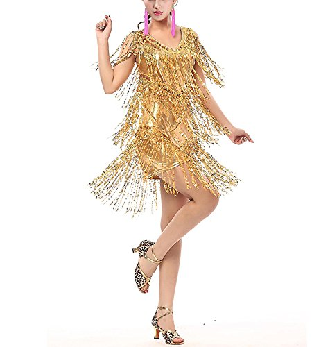 Whitewed-V-Neck-1920s-Sequin-Fringe-Charleston-Flapper-Dance-Dresses-Costumes