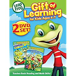 Leapfrog: Gift of Learning (Kids 4 to 7) - DVD + Digital