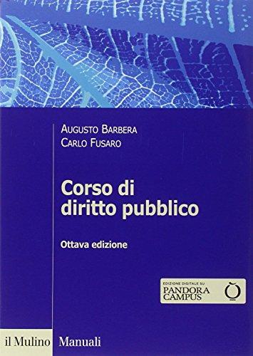 Corso di diritto pubblico PDF