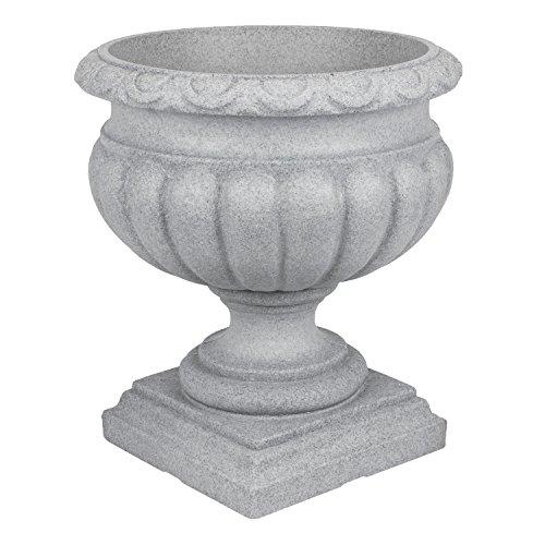 Pflanzpokal-Amphore-Pflanzgef-Vase-Schale-Deko-terracotta-rund-D-46-cm-Kunststoff
