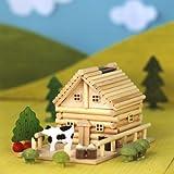 田舎ものがたり ログハウス 貯金箱 オルゴール
