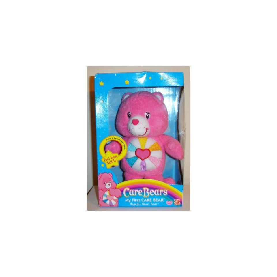 My First Care Bear Plush Hopeful HeartBear