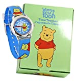 Picture Of Pooh Bear Jelly watch Winne helps you tell the time. Silver tone case nice child size