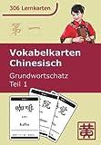 Vokabelkarten Chinesisch: Grundwortschatz, Teil 1