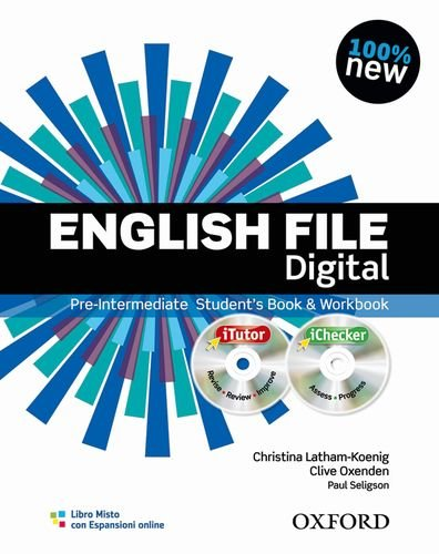 English file digital Pre intermediate Student's book Workbook Without keys Con espansione online Per le Scuole PDF
