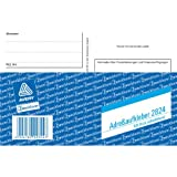 Avery Zweckform 2824 Adressaufkleber/Pake... DIN A6, selbstklebend, 100 Blatt, weiß