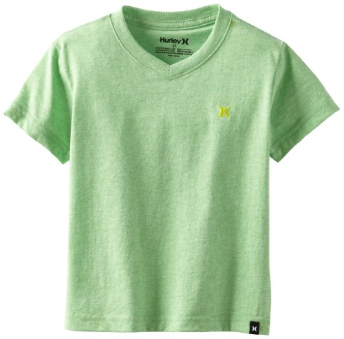 Hurley Boys 2-7 Heathered V Neck Tee