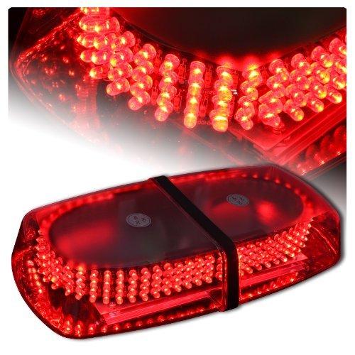 Red Vehicle Car Truck Emergency Hazard Warning 240 Led Mini Bar Strobe Flash Light