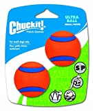 Chuckit! Small Ultra Ball 2-Inch, 2-Pack