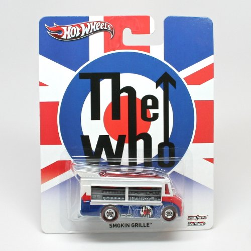 SMOKIN' GRILLE * THE WHO * Hot Wheels 2013 Pop Culture Series Die-Cast Vehicle - 1