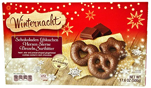 Cafe Bistro Chocolate Covered Gingerbread Assortment 17.6 oz (500g) (Dark Chocolate) (German Dark Bread compare prices)