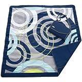 JJ Cole Outdoor Blanket, Blue Orbit