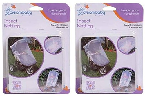 Dream Baby Stroller & Bassinet Insect Netting - 2 Pack - 1