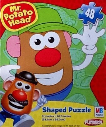 Mr. Potato Head Children's Shaped Jigsaw Puzzle!!! 48 Piece Puzzle Educational Bright & Colorful By Playskool