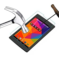 ECellStreet Tempered Glass Toughened Glass Screen Protector For Karbonn Smart Ta Fone A37 HD Tablet