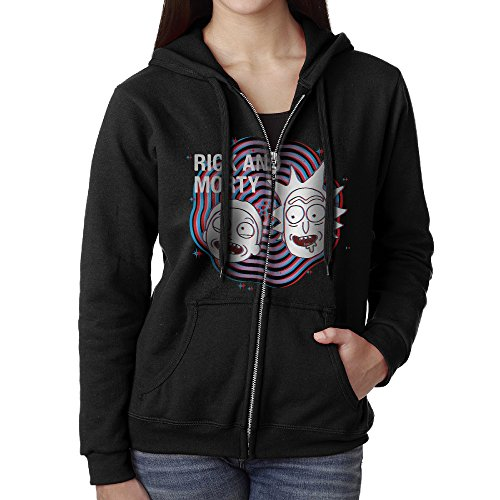 Women's Rick And Morty Anatomy Park Season 1 Episode Full Zipper Pocket Hooded Sweashirt Medium (Supernatural Season 1 Episode 9 compare prices)