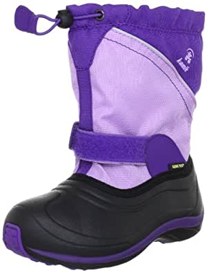 Kamik QuiverG NK8029, Unisex - Kinder Stiefel, Violett (lil), EU 26 (US 9)