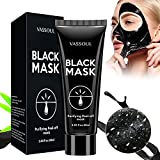Vassoul Blackhead Remover Black Mask, Purifying Peel-off Mask with Activated Charcoal