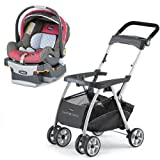 Chicco KeyFit Caddy Stroller with Foxy Cortina Keyfit 30 Infant Car Seat