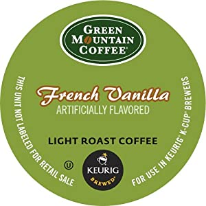 Keurig, Green Mountain Coffee, French Vanilla, K-Cup Packs, 24 Count