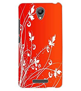 ColourCraft Lovely Pattern Design Back Case Cover for XIAOMI REDMI NOTE 2