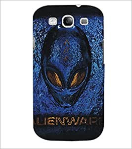 PrintDhaba Alien D-5405 Back Case Cover for SAMSUNG GALAXY S3 (Multi-Coloured)