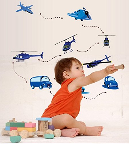 Aircraft Construction Home Furnishing Decorative Wall Stickers front-709678