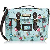 SwankySwans Womens Pembleton Owl Top Handle Day Satchel