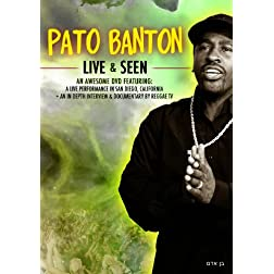 Banton, Pato - Live And Seen