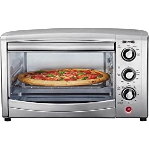 Oster Countertop Convection Oven Recipes : Oster TSSTTVCA01 6-Slice Convection Toaster Oven, Stainless Steel ...