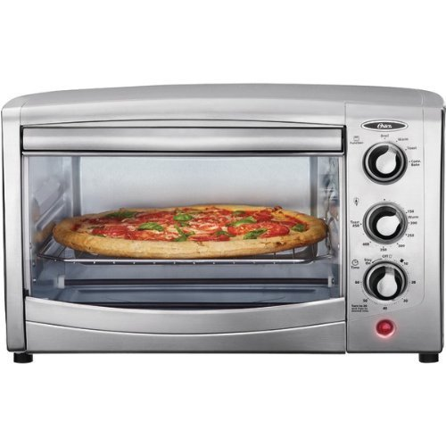 Countertop Convection Oven Round : ... Oster TSSTTVCA01 6-Slice Convection Toaster Oven, Stainless Steel