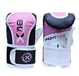 Xn8 Pink Black Bag Mitts Boxing Bag Glove MMA Muay Thai Punch Grappling Pad