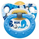 HAPPY KIDS LATEX SOOTHER SIZE 2 (2 PACK) (BLUE)