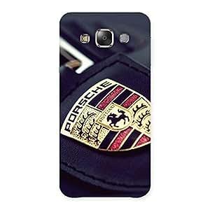 Ajay Enterprises Fill Orsep Back Case Cover for Galaxy E7
