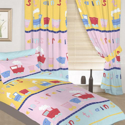 Shopisfy Single Children's Duvet Cover & Matching Curtains Set 66