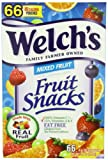 Welchs Fruit Snacks, Mixed, 66 count, 3.7 Pounds