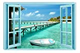 絵画インテリアアート楽園への窓 Startonight 60x90 cm 玄関やリビング、お祝いや贈り物に [並行輸入品]