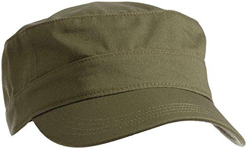 Puma - Cappello Essential Military Unisex adulto, Verde (Burnt Olive), Taglia unica