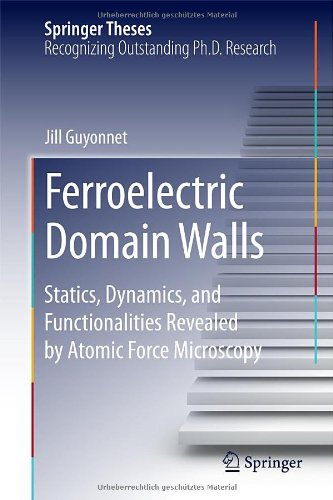 Ferroelectric Domain Walls: Statics, Dynamics, And Functionalities Revealed By Atomic Force Microscopy (Springer Theses)