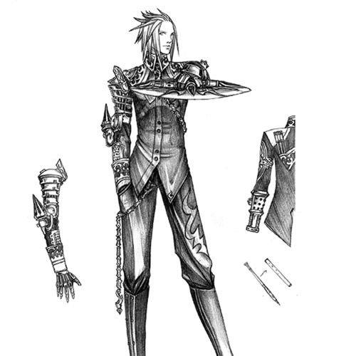 Anima Tactics Wissenschaft: Male Agent - 1