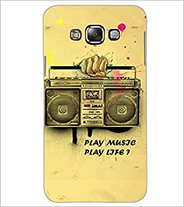 PrintDhaba Radio D-3859 Back Case Cover for SAMSUNG GALAXY GRAND 3 (Multi-Coloured)